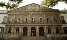 A direção da Santa Casa negocia pavilhão com empresa, para receber em troca um centro cirúrgico e um CTI Foto: Guito Moreto / Agência O Globo