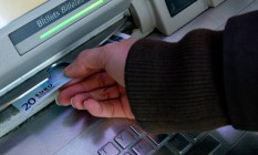 Rússia. Hackers são capazes de restaurar o saldo após retirada de dinheiro Foto: David Ramos / Bloomberg