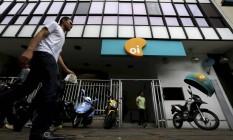 Prédio da Oi, no Rio. Empresa criou grupo de trabalho voltado para economia de energia Foto: Custódio Coimbra/11-07-14 / O Globo