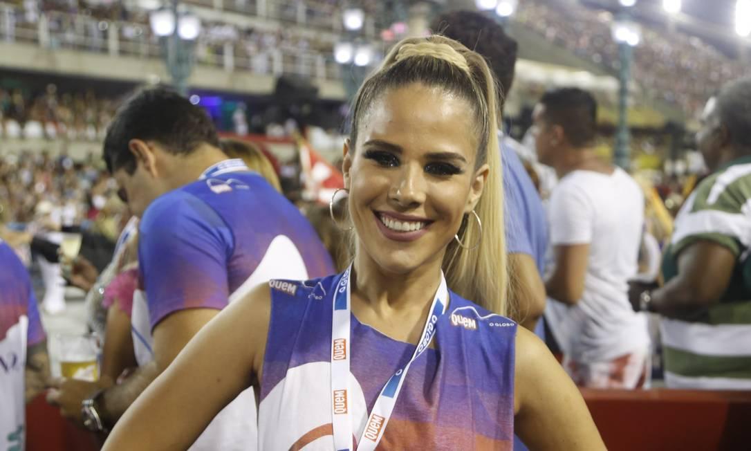 A cantora e filha de Zé di Camargo, Wanessa Camargo Bárbara Lopes / Agência O Globo