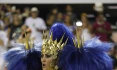 Sabrina Sato na Vila Foto: Marcelo Carnaval/ O Globo