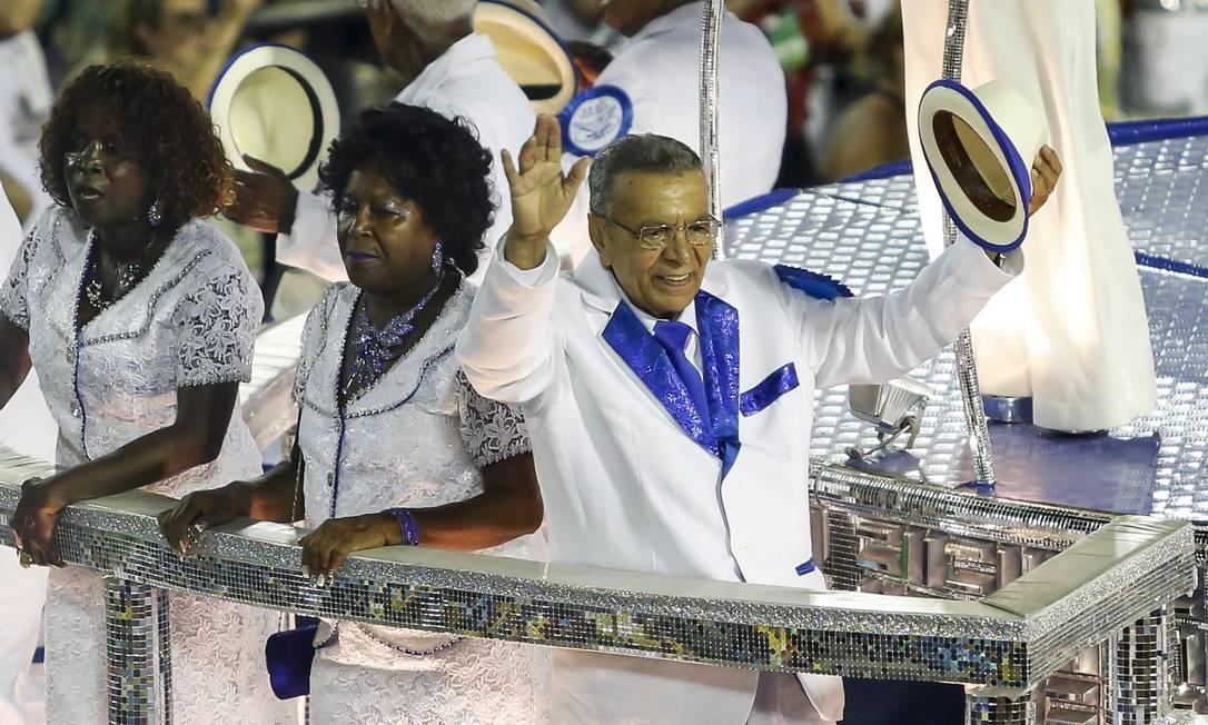 Monarco, na Portela, é a personalidade do Grupo Especial Hermes de Paula/ O Globo