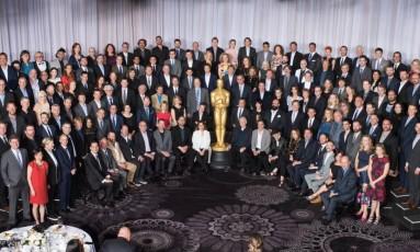 Indicados ao Oscar 2016 reunidos Foto: Reprodução