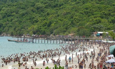 A praia de Puerto Francés é um dos principais destinos do estado Foto: Arquivo / El Nacional/GDA