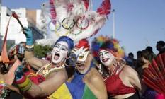 Irreverência no último desfile do ano da Banda de Ipanema Foto: Leo Martins / Agência O Globo