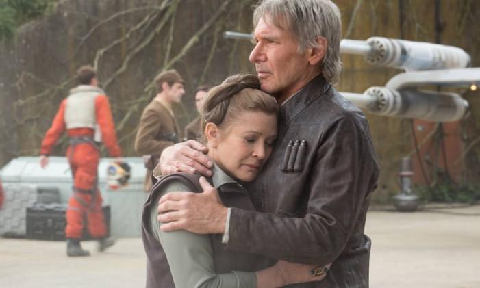 """Filme """"Guerra nas estrelas - O despertar da Força"""", que impulsionou o lucro da Disney Foto: Divulgação/David James"""
