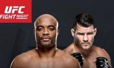 Anderson Silva x Michael Bisping, o confronto principal do UFC Fight Night de fevereiro Foto: Divulgação