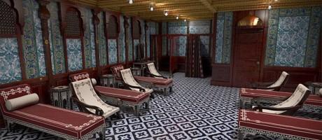 A sala de banhos turcos Foto: © bluestarline.com.au