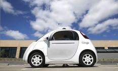 Carro autônomo da Google em teste em Moutain View, Califórnia Foto: Tony Avelar / AP