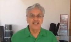 Caetano Veloso comemora título da Mangueira Foto: Reprodução Facebook