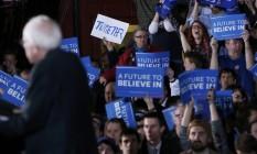 'Um futuro para acreditar', dizem apoiadores de Sanders Foto: SHANNON STAPLETON / REUTERS