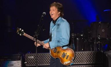 Paul McCartney faz parceria com Skype para compor série de sons para emojis' Foto: Marcos Hermes / Agência O Globo