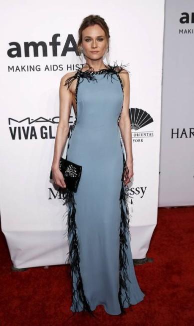 A atriz Diane Kruger vestiu Prada ANDREW KELLY / REUTERS
