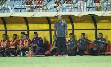 Muricy acredita que o Flamengo vem evoluindo e está no caminho certo Foto: Divulgação/Flamengo