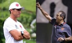 Jorginho e Muricy Ramalho projetam uma boa e muito disputada partida para domingo Foto: Divulgação
