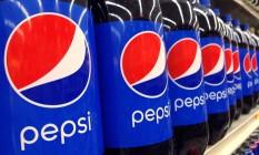 Garrafas de Pepsi em supermercado nos EUA Foto: Elise Amendola / AP