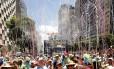 Desfile do Monobloco no Centro em 22/02/2015