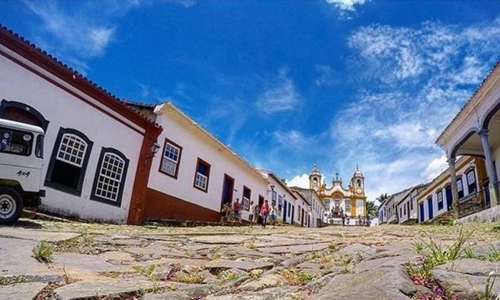 Tiradentes, Minas Gerais Foto: @mdellavalle / Instagram