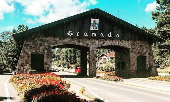 Gramado, Rio Grande do Sul Foto: @luizmontanhaemonica / Instagram