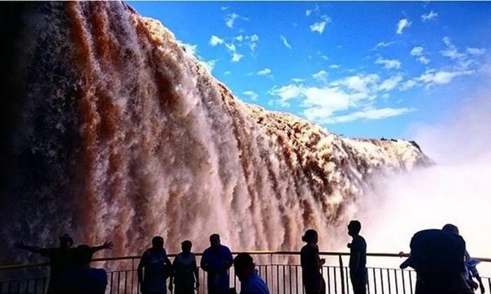 Cataratas do Iguaçu, Paraná Foto: @moseisept / Instagram