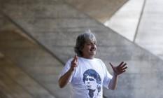 """""""Amo Glauber Rocha, foi um choque quando vi um filme dele pela primeira vez"""", conta curador Foto: Domingos Peixoto / Agência O Globo"""