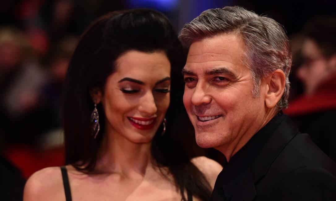 Mais de George Clooney e Amal JOHN MACDOUGALL / AFP
