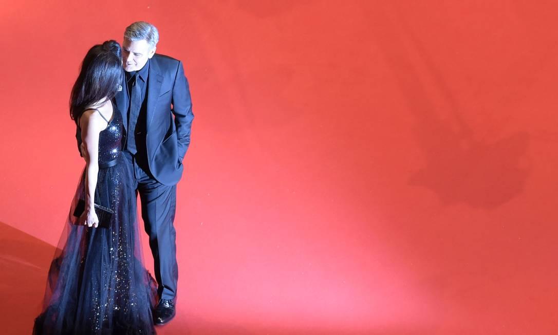Mais de George Clooney e Amal ODD ANDERSEN / AFP