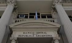 Negociação. Prédio do BC argentino. Equipe econômica mantém otimismo Foto: Diego Levy / Bloomberg