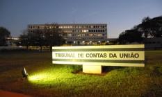 Sede do Tribunal de Contas da União Foto: Divulgação / 17-6-2010