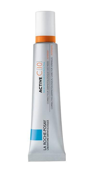 Active C [10], de La Roche-Posay (www.laroche-posay.com.br), R$ 199: com concentração de 10% de vitamina C estabilizada, ele tem ação antirrugas e melhora a luminosidade da pele, além de textura leve e fluida com finalização aveludada Foto: Divulgação