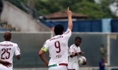 Fred já é o terceiro maior artilheiro da história do Fluminense Foto: Divulgação/Fluminense
