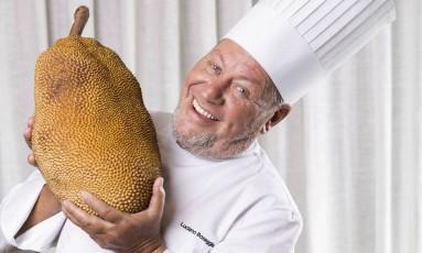 Chef Luciano Boseggia, do Alloro Foto: Ana Branco / Agência O Globo