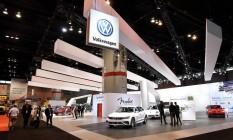Carros da Volkswagen no Chicago Auto Show Foto: Bob Chwedyk / AP