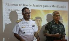 Militares apresentam força-tarefa para o combate ao Aedes no Rio Foto: Domingos Peixoto / O Globo