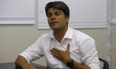 O secretário-executivo da prefeitura do Rio de Janeiro, Pedro Paulo Foto: Domingos Peixoto / Agência O Globo / 21-1-2015