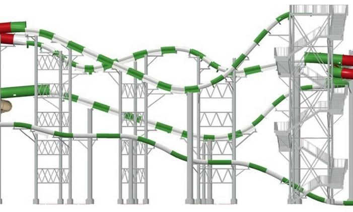 Projeto da Massiv, que será inaugurada em maio Foto: Divulgação