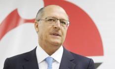 O governador de São Paulo, Geraldo Alckmin, em 2014 Foto: Marcos Alves / Agência O Globo / 24-3-2014