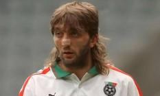 Ivanov defendeu a Bulgária em duas Copas do Mundo Foto: Reprodução