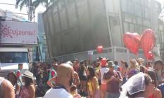 Bloco Quizomba desfila na manhã deste sábado, nos Arcos da Lapa Foto: Cissa Loureiro