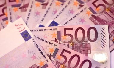 Notas de € 500 Foto: MIGUEL MEDINA / AFP