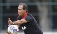 Para Muricy Ramalho, o jogador tem que estar sempre com vontade Foto: Divulgação/Flamengo