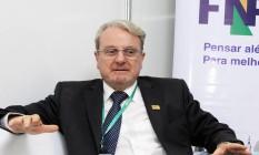 O prefeito de Belo Horizonte, Marcio Lacerda, durante entrevista concedida ao GLOBO em 2015 Foto: Edgar Marra / 31/03/2015
