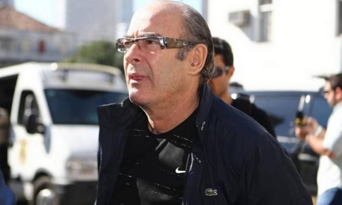 O lobista Fernando Moura foi preso em agosto de 2016, e passou a cumprir prisão domiciliar em novembro. Em maio de 2016, contudo, descobriu-se que ele havia mentido em um depoimento, e Moura voltou a ser preso Foto: Geraldo Bubniak / Arquivo O Globo