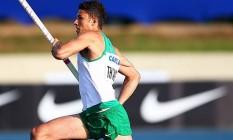 O recorde continental anterior era do próprio Thiago Braz, com 5,76 m Foto: Wagner Carmo / CBAt