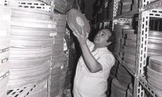 Fundada em 1955, Cinemateca do MAM sofre com umidade do mar e altas temperaturas cariocas Foto: Arquivo