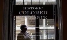 A histórica entrada 'para os de cor' Foto: Brynn Anderson/AP