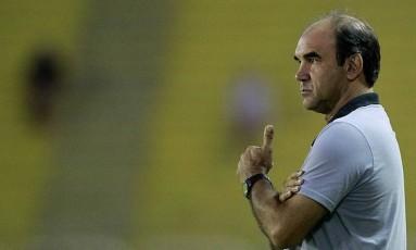 Ricardo Gomes reconhece que o time precisa melhorar Foto: Vítor Silva/SSPress/Botafogo
