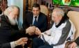 Fidel e Kirill encontraram-se na residência oficial do líder cubano em Havana