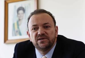 O ministro da Secretaria de Comunicação da Presidência da República, Edinho Silva Foto: Givaldo Barbosa / Agência O Globo
