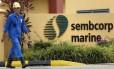 Sede da Sembcorp Marine em Cingapura